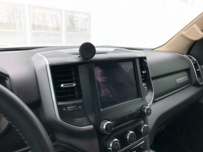2019+ Dodge Ram phone mount