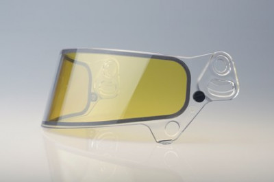Bell SV (SE07) replacement shield  yellow