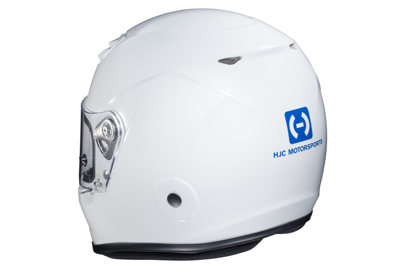 HJC H10 white rear