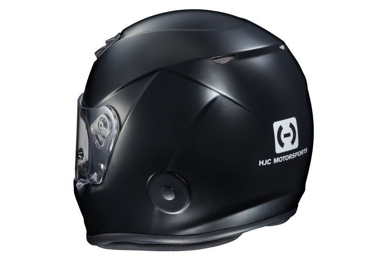 HJC H10 black rear