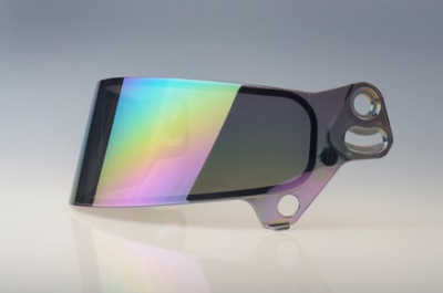 Bell SV (SE07) replacement shield rainbow chrome