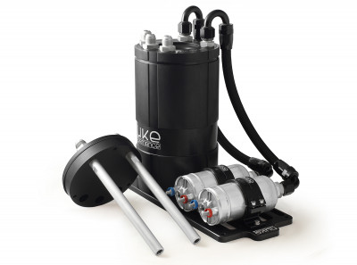 Nuke Performance Fuel Surge Tank Kit for Single External Fuel Pump