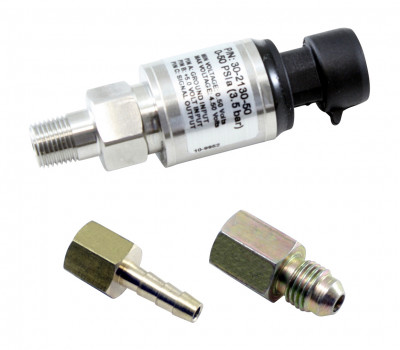 AEM 50 PSIa / 3.5 Bar Stainless Steel Pressure Sensor Kit