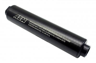 AEM Universal -10AN High Volume Fuel Filter